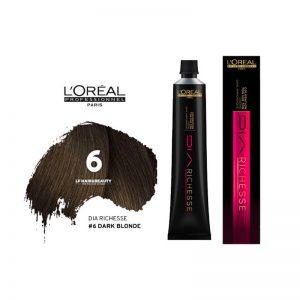 Loreal Dia Richesse Semi Permanent Hair Color 6 Dark Blonde 50ml