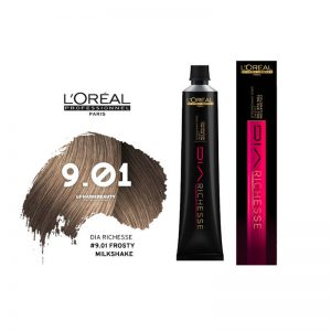 Loreal Dia Richesse Semi Permanent Hair Color 9.01 Frosty Milkshake 50ml