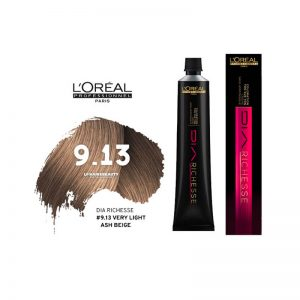 Loreal Dia Richesse Semi Permanent Hair Color 9.13 Very Light Ash Gold Blonde 50ml