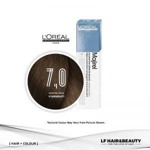 L'Oreal Majirel Permanent Hair Color 7.0 Deep Blonde 50ml