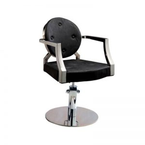 Mira Styling Chair (MY-007-54) Black -5 BUTTONS