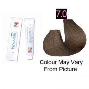 Nouvelle - Permanent Hair Color 7.0/Blonde Plus 100ml