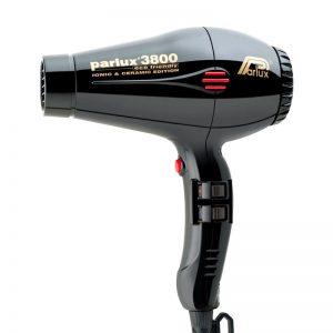 Parlux 3800 Eco Friendly Ionic & Ceramic Hair Dryer - Black