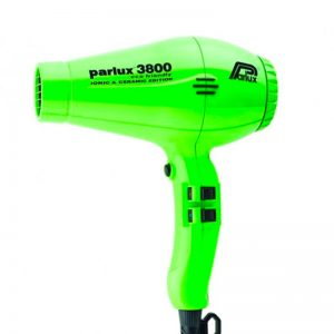 Parlux 3800 Eco Friendly Ionic & Ceramic Hair Dryer - Green