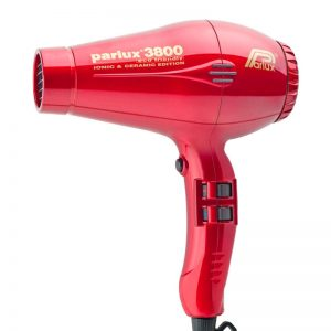 Parlux 3800 Eco Friendly Ionic & Ceramic Hair Dryer - Red
