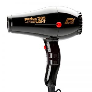 385 Parlux Power Light Ceramic and Ionic Hair Dryer - Black