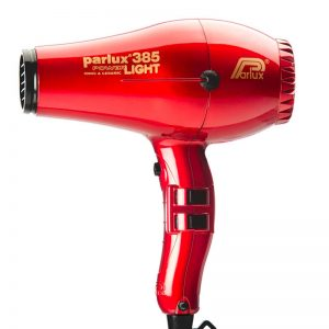 Parlux 385 Power Light Ceramic and Ionic Hair Dryer - Red