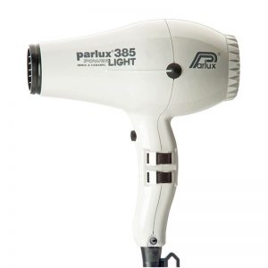 Parlux 385 Power Light Ceramic and Ionic Hair Dryer - White