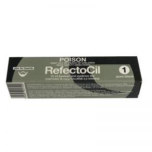 RefectoCil - Tint 15ml - #1 Black