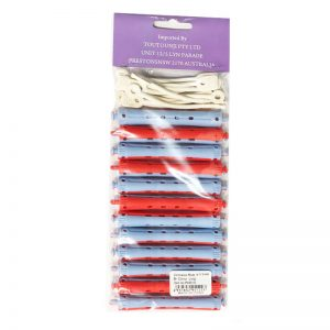 Perm Roller cold-wave rods 11*91mm - 12pcs Blue&Red