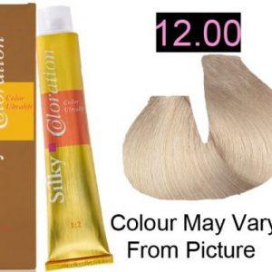 Silky 12.00/12NN Permanent Hair Color 100ml - EXTRA LIGHT BLONDE