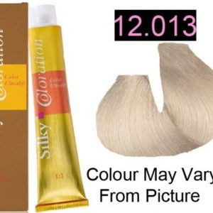 Silky 12.013/12NAG Permanent Hair Color 100ml - LEVEL 12.013 EXTRA LIGHT NATURAL BEIGE BLONDE