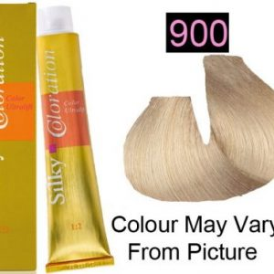 Silky 900 Permanent Hair Color 100ml - ULTRA LIGHT BLONDE