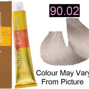 Silky 90.02/9V Permanent Hair Color 100ml - NACRÈ