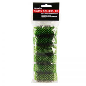 Swiss Rollers - Dark Green 25mm 6 Pcs