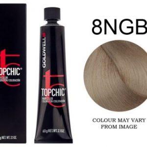 Goldwell - Topchic - 8NGB Light Blonde Refl Bronze 60g