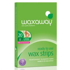 Waxaway Ready To Use Body Wax Strips 20Pk