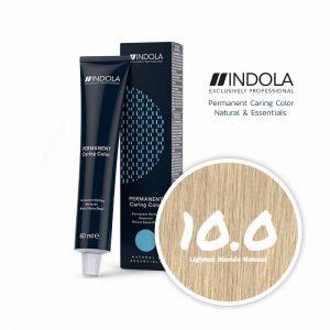 Indola Permanent Caring Color 10.0 Lightest Blonde Natural 60ml