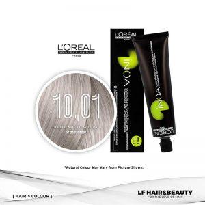 Loreal iNOA Permanent Hair Color 10,01 Lightest Natural Ash Blonde 60g