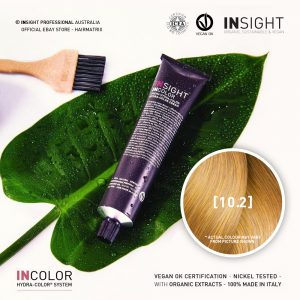 Insight INCOLOR Hydra-Color Cream [10.2] Irisee Extra Light Blond 100ml