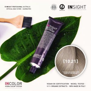 Insight INCOLOR Hydra-Color Cream [10.21] Irisee Ash, Extra Light Blond 100ml
