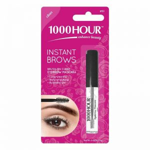 1000 Hour Instant Brows Eyebrow Mascara, Clear
