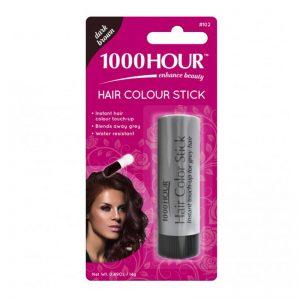 1000 Hour Hair Colour stick, Dark Brown