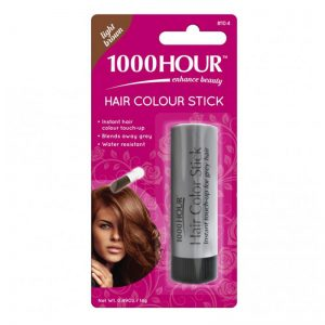 1000 Hour Hair Colour Stick, Light Brown