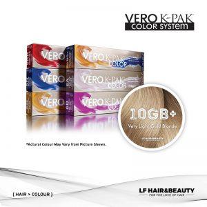 Joico Vero K-PAK Age Defy 10GB+ Permanent Color - Very Light Gold Blonde