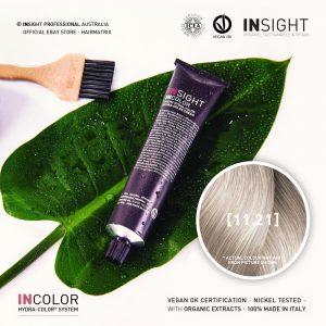 Insight INCOLOR Hydra-Color Cream [11.21] Platinum, Irisee Ash Blond 100ml