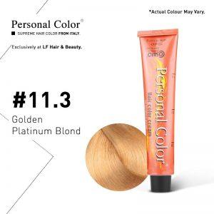 Cosmo Service Personal Color Permanent Cream 11.3 - Golden Platinum Blond 100ml