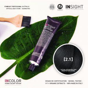 Insight INCOLOR Hydra-Color Cream [2.1] Blue Black 100ml