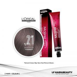 L'Oreal Majirel Mix Permanent Hair Color ,21 Iridescent Ash 50ml