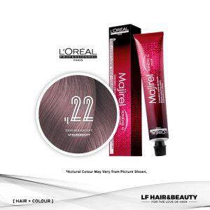 L'Oreal Majirel Mix Permanent Hair Color ,22 Deep Iridescent 50ml