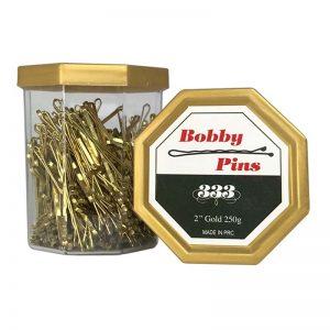 """333 Bobby Pins - 2"""" Gold 250g"""