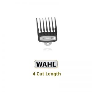 Wahl Premium Clipper Attachments with Metal Tabs -4 Cut Length