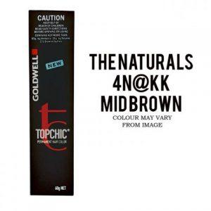 Goldwell - Topchic mid-brown 4N@KK 60g
