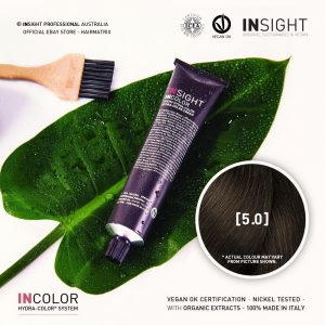 Insight INCOLOR Hydra-Color Cream [5.0] Natural Light Brown 100ml