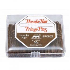 "555 - Hosoke Hair Fringe Pins Bronze 2"" 50g"