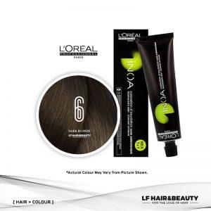 Loreal iNOA Permanent Hair Color 6 Fundamental Dark Blonde 60g