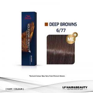 Wella Koleston Perfect Permanent Cream 6/77 - Dark Blonde Brown Intensive 60g