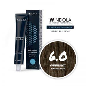 Indola Permanent Caring Color 6.0 Dark Blonde Natural 60ml