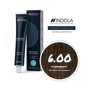 Indola Permanent Caring Color 6.00 Dark Blonde Intense Natural 60ml