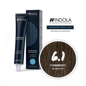 Indola Permanent Caring Color 6.1 Dark Blonde Ash 60ml