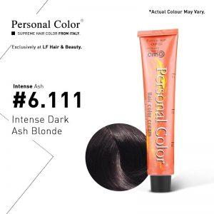 Cosmo Service Personal Color Permanent Cream Intense Ash 6.111 - Intense Dark Ash Blonde 100ml