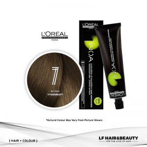 Loreal iNOA Permanent Hair Color 7 Fundamental Blonde 60ml