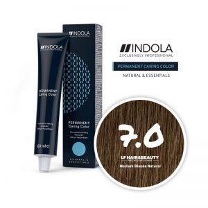 Indola Permanent Caring Color 7.0 Medium Blonde Natural 60ml