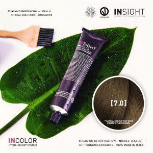 Insight INCOLOR Hydra-Color Cream [7.0] Natural Blonde 100ml