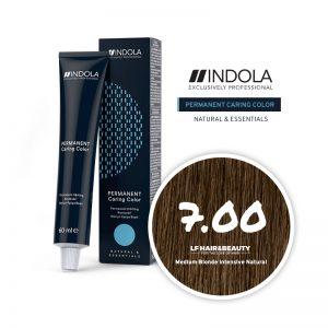 Indola Permanent Caring Color 7.00 Medium Blonde Intensive Natural 60ml