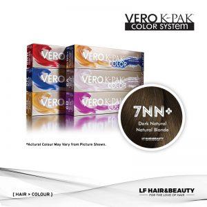 Joico Vero K-PAK Age Defy 7NN+ Permanent Color - Dark Natural Natural Blonde 74ml